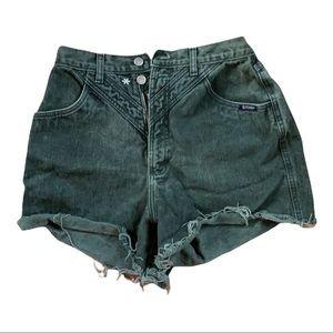Rocky Mountain clothing company green denim short